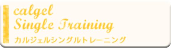 カルジェルシングルトレーニング①¥10,800(税込)<br>カルジェルシングルトレーニング②¥16,200(税込)